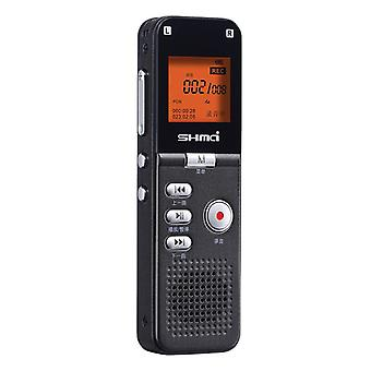 Shmci t30 professional quad-core noise reduction pcm stereo phone digital voice activate audio recorder mini player dictaphone
