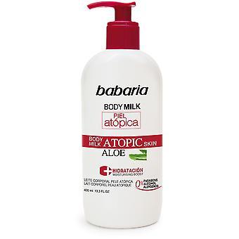 Babaria Body Milk With Aloe Vera For Atopic Skin 400 ml