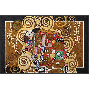 Salonloewe Gustav Klimt - Uppfyllelse Melange dörrmatta 115 x 175 cm SLD1903-115x175