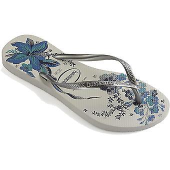 Havaianas Slim Organiska Flip Flops SS21 Silver 03