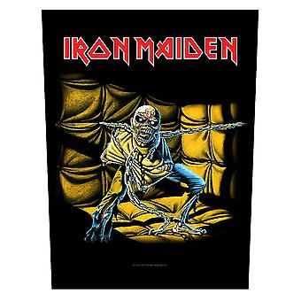 Iron Maiden tilbake Patch Piece Of Mind bandets logo nye offisielle (36 cm x 29 cm)