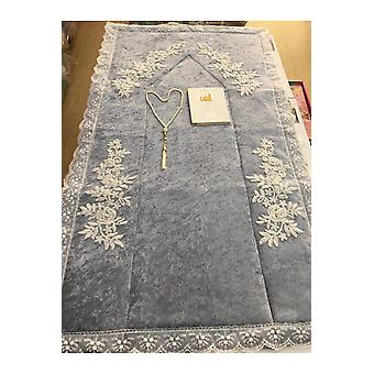 Velvet Prayer Rug 3 Piece Bridal Set