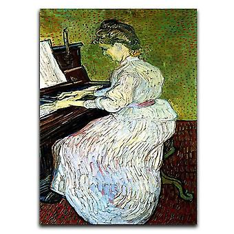 Marguerite gachet pianokankaalla