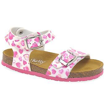 Lelli Kelly Sonia Velcro Unicorn Girls Sandals