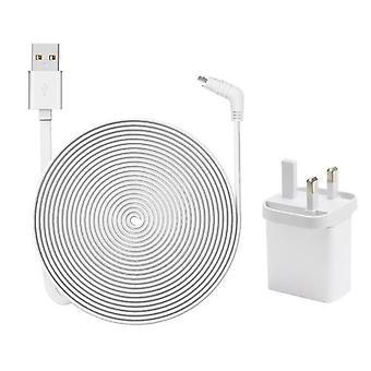 Odporny na warunki atmosferyczne wewnętrzny / zewnętrzny płaski kabel Kabel Aluminium Alloy Micro USB Kabel ładowania / przewód zasilający z wtyczką