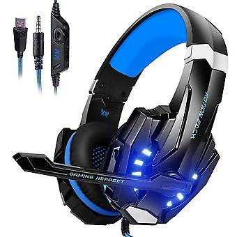 Wokex Gaming Headset, Gaming Kopfhrer mit Mikrofon, Bass Stereo Surround, kompatibel mit PS4 / Xbox