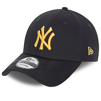 العصر الجديد 9Forty حزام كاب -- نيويورك يانكيز البحرية / الذهب