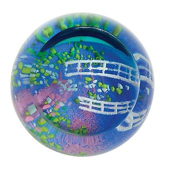 Caithness Glass Impressions artistiques Lily Pond Paperweight