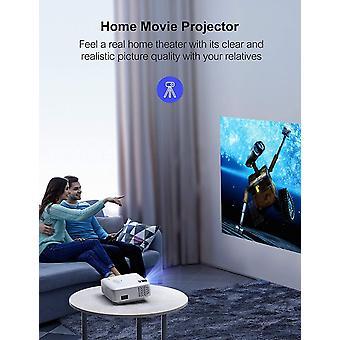 Mini-Projektor für das Heimkino, unterstützt Full-HD-Video mit 1080 Pixeln, Screen-Mirroring pro