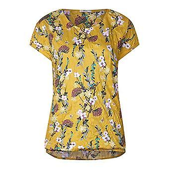 Cecil 313743 T-Shirt, Multicolor (Ceylon Yellow 31892), X-Small Woman