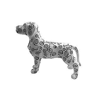 Piggy bank Dog With Round pattern