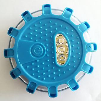 Led Road Flare sininen turvasoihtu taskulamppu