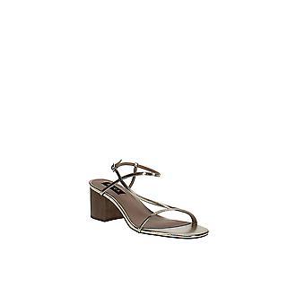 Aqua | Amy Strappy Slingback Mid-Heel Sandals