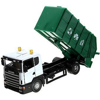 New Scania Truck Garbage Model Toy 18*8*7cm ES12906