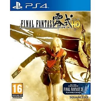 Final Fantasy Type-0 HD PS4 Game