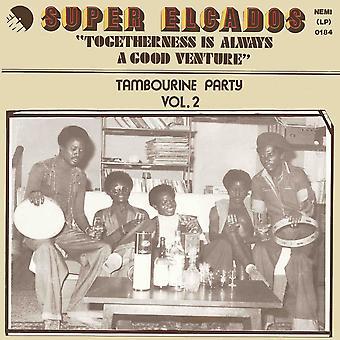 Super Elcados - Togetherness Is Always A Good Venture Tambourine Party Vol. 2 Vinyl
