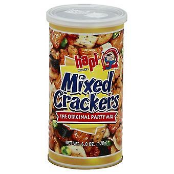 gelukkige Cracker Mixed Can, Geval van 12 X 6 Oz