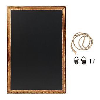 uusi suorakulmio ripustus puinen blackboard sm40136