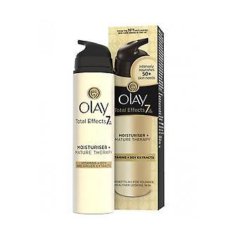 Olay Total Effects 7 in One Moisturiser Rijpe Therapie 50ml met Soja en Gember #7in1 Olay