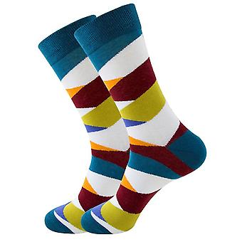 Stylish and Funky Striped Pattern Socks from the Sock Panda