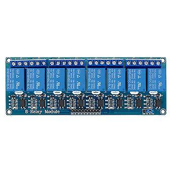 1 2 4 8-канальный 5-звученный релейный модуль с оптропалей. релейный выход 1 2 4 8-х стороннего релейного модуля в наличии для arduino