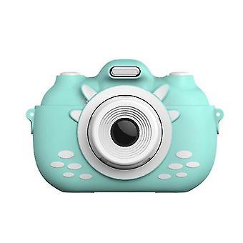 Детская камера 3-дюймовый HD сенсорный экран цифровая камера 1080P (синий)