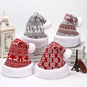 Homemiyn Winter Wool Knitted Warm Hat,unisex Christmas Knitted Hat