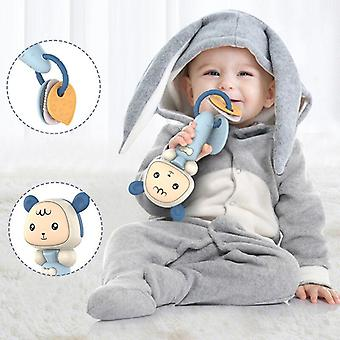 Soft Rattles Teethers For Babies Boy 1 Year Old Educational Musical Baby  Rattles & Mobiles