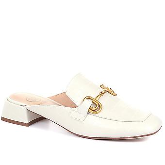 Caterpillar Womens Leather Backless Mules