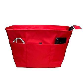 Cosmétique trousses de toilette insert sacs organisateur maquillage sac à main organiser sac à main intérieur portable base shaper premium
