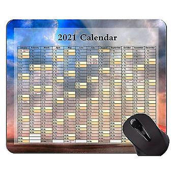 Keyboard mouse wrist rests 220x180x3 2021 calendar golden premium mouse pad with locking edge beach sky themed gaming mouse