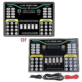 Computer accessory sets dual phone live broadcast external sound card cellphone webcast personal entertainment voice
