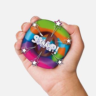 3pcs לחץ הקלה על אצבע צעצוע להגדיר טבעת אחיזת סיליקון הפחתת לחץ צעצועים