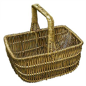 Small Southport Wicker Shopping Basket