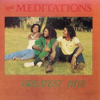 Meditationer - Greatest Hits CD] USA importerer