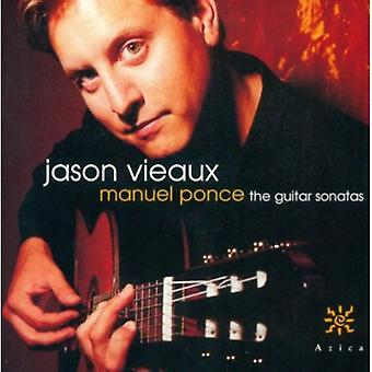 Jason Vieaux - Manuel Ponce: The Guitar Sonatas [CD] USA import