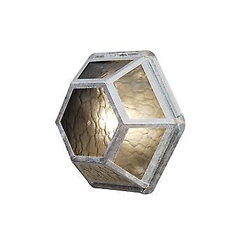 Konstsmide Castor Galv Wall Light