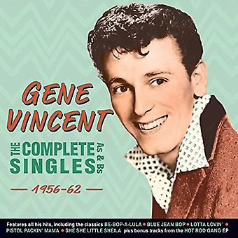 Gene Vincent - Vincent Gene-Complete Singles als & Bs [CD] USA importieren