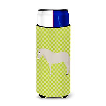 Paso Fino Horse Green Michelob Ultra Hugger for slim cans