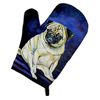 Carolines Treasures  7026OVMT Fawn Pug Penny for your thoughts Oven Mitt