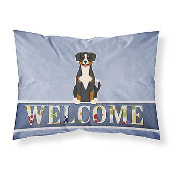 Entlebucher Welcome Fabric Standard Pillowcase