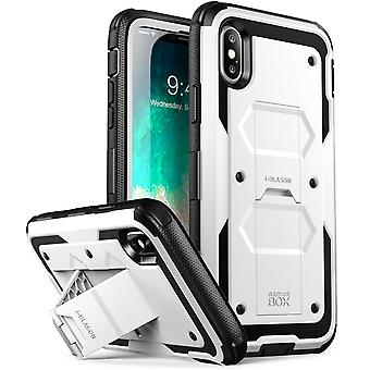 iPhone X Case, [Armorbox] i-Blason built in [Screen Protector] [Full body] [Heavy Duty Protection] [Kickstand],Iphone X