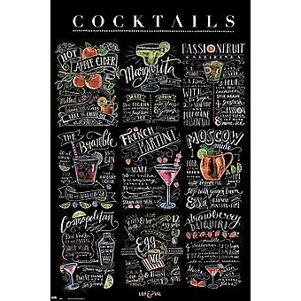 Lily & Val Cocktails affiche Poster Print