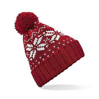 Beechfield Childrens/Kids Fairisle Knitted Hat