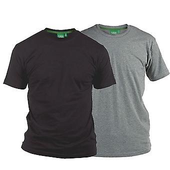 D555 Fenton T-Shirt Twin Pack