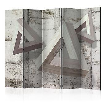 Paravent 5 volets - Grey Trio II [Room Dividers]