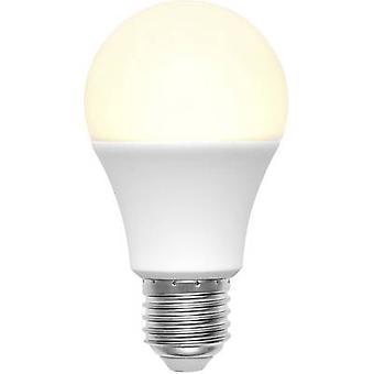 Basetech 1491170 LED (أحادية اللون) EEC A + (A++ - E) E27 التعسفي 9 W = 60 W أبيض دافئ (Ø x L) 60 مم × 110 مم 1 pc (s)