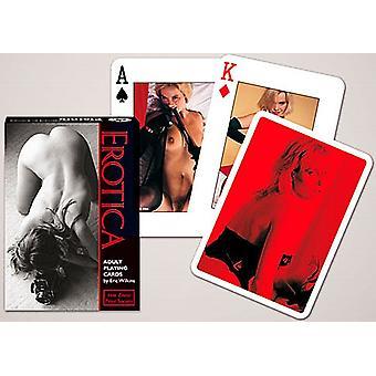 Erotikk sett med 52 (+ jokere) spillkort