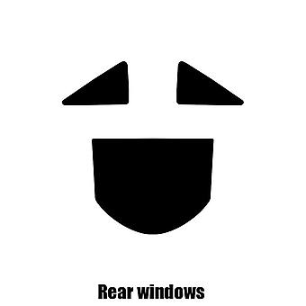 Pre cut window tint - Ferrari 599 - 2006 to 2012 - Rear windows
