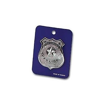 Police Badge - Metal.